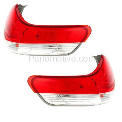 Aftermarket Auto Parts - TLT-1630LC & TLT-1630RC CAPA 11-13 Sienna Taillight Taillamp Brake Outer Light Lamp Left Right Set PAIR - Image 2