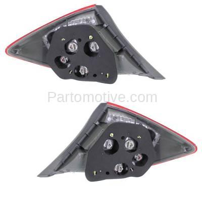Aftermarket Auto Parts - TLT-1640LC & TLT-1640RC CAPA 2012 Civic Sedan Taillight Taillamp Brake Light Lamp Left & Right Set PAIR - Image 3