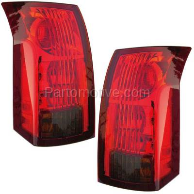 Aftermarket Auto Parts - TLT-1213LC & TLT-1213RC CAPA 04-07 Cadillac CTS Taillight Taillamp Brake Light Lamp Left Right Set PAIR - Image 1