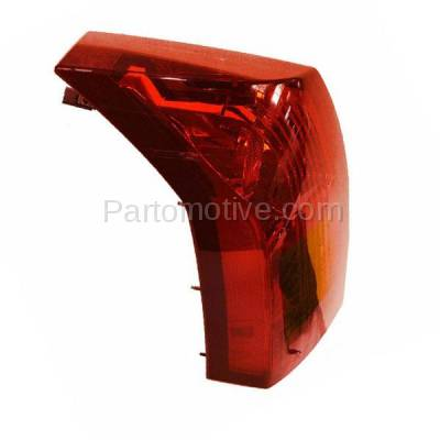 Aftermarket Auto Parts - TLT-1213LC CAPA 04-07 Cadillac CTS Taillight Taillamp Rear Brake Light Lamp Driver Side LH - Image 2