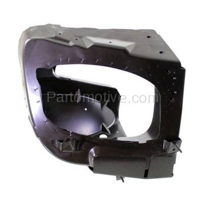 Aftermarket Replacement - RSP-1539R 1998-1999 Mercedes-Benz ML-Class ML320/ML430 Front Radiator Support Side Bracket Brace Panel Primed Made of Steel Right Passenger Side - Image 1