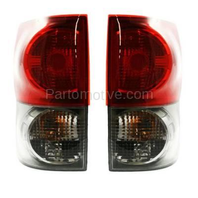 Aftermarket Auto Parts - TLT-1326LC & TLT-1326RC CAPA 07-09 Tundra Truck Taillight Taillamp Brake Light Lamp Left Right Set PAIR - Image 2