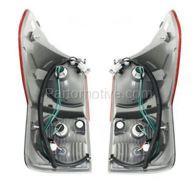 Aftermarket Auto Parts - TLT-1326LC & TLT-1326RC CAPA 07-09 Tundra Truck Taillight Taillamp Brake Light Lamp Left Right Set PAIR - Image 3