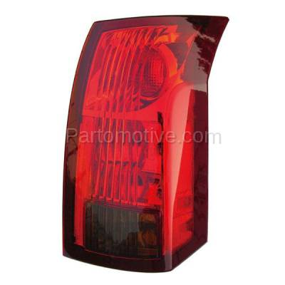 Aftermarket Auto Parts - TLT-1213RC CAPA 04-07 Cadillac CTS Taillight Taillamp Rear Brake Light Lamp Passenger Side - Image 1