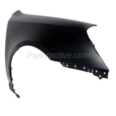 Aftermarket Replacement - FDR-1539R 2006-2008 Kia Magentis & Optima (2.4 & 2.7 Liter Engine) Front Fender Quarter Panel (without Molding Holes) Steel Right Passenger Side - Image 2