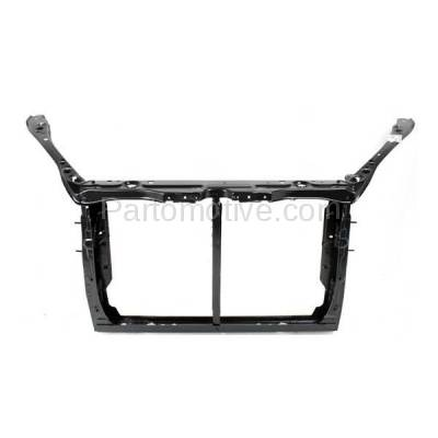 Aftermarket Replacement - RSP-1791 2005-2010 Toyota Sienna 3.3L/3.5L Cargo/Passenger Van Front Center Radiator Support Core Assembly Primed Made of Steel - Image 1
