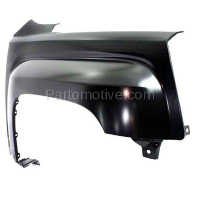 Aftermarket Replacement - FDR-1752R 2010-2017 GMC Terrain (2.4 & 3.0 & 3.6 Liter Engine) (Models with 3 Mounting Holes) Front Fender Quarter Panel Steel Right Passenger Side - Image 2