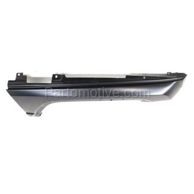 Aftermarket Replacement - FDR-1169RC CAPA 2006-2010 Jeep Commander (3.7 & 4.7 & 5.7 Liter Engine) Front Fender Quarter Panel (with Molding Holes) Steel Right Passenger Side - Image 3