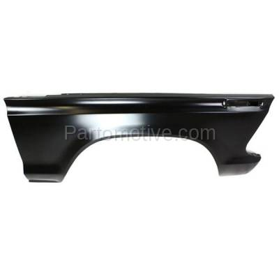 Aftermarket Replacement - FDR-1289R 1973-1979 Ford F-Series F100/F150/F250/F350/F500 Pickup Truck & 1978-1979 Bronco Front Fender Quarter Panel Steel Right Passenger Side - Image 1