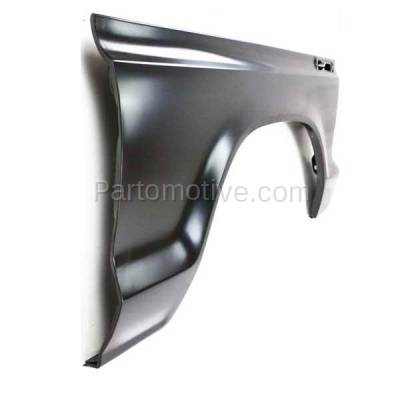 Aftermarket Replacement - FDR-1289R 1973-1979 Ford F-Series F100/F150/F250/F350/F500 Pickup Truck & 1978-1979 Bronco Front Fender Quarter Panel Steel Right Passenger Side - Image 2