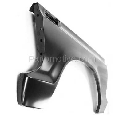 Aftermarket Replacement - FDR-1289L 1973-1979 Ford F-Series F100/F150/F250/F350/F500 Pickup Truck & 1978-1979 Bronco Front Fender Quarter Panel Steel Left Driver Side - Image 3
