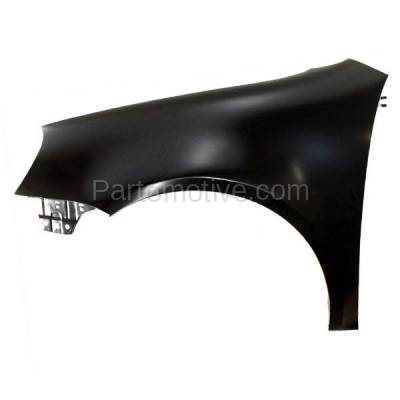 Aftermarket Replacement - FDR-1588LC CAPA 06-09 Rabbit & GTI Front Fender Quarter Panel Driver VW1240137 1K6821021A - Image 1
