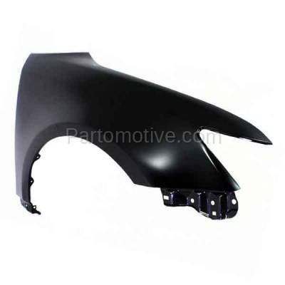 Aftermarket Replacement - FDR-1749RC CAPA 2011-2016 Scion tC (2-Door Coupe) 2.5L Front Fender Quarter Panel (without Molding Holes) Primed Steel Right Passenger Side - Image 2