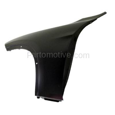 Aftermarket Replacement - FDR-1815LC CAPA 2013-2015 BMW X1 (2.0 & 3.0 Liter Engine) Front Fender Quarter Panel (without Turn Signal Light Holes) Steel Left Driver Side - Image 3