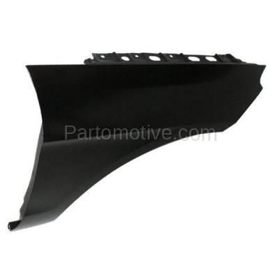 Aftermarket Replacement - FDR-1450R 2012-2015 Mercedes-Benz ML-Class (excluding ML63) Front Fender Quarter Panel (without Molding Holes) Primed Aluminum Right Passenger Side - Image 2
