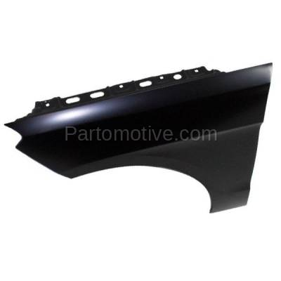 Aftermarket Replacement - FDR-1450L 2012-2015 Mercedes-Benz ML-Class (excluding ML63) Front Fender Quarter Panel (without Molding Holes) Primed Aluminum Left Driver Side - Image 2