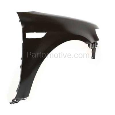 Aftermarket Replacement - FDR-1746R 2008 2009 Ford Taurus (Limited, SE, SEL) Front Fender Quarter Panel (with Applique Provision) Primed Steel Right Passenger Side - Image 3