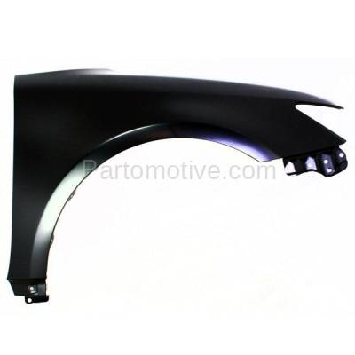 Aftermarket Replacement - FDR-1749R 2011-2016 Scion tC (2-Door Coupe) 2.5L Front Fender Quarter Panel (without Molding Holes) Primed Steel Right Passenger Side - Image 1