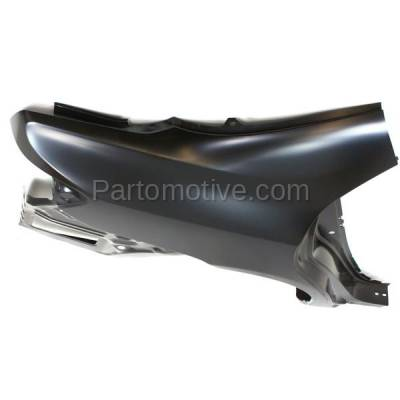 Aftermarket Replacement - FDR-1177R 2009-2013 Toyota Corolla (USA Built) Rear Fender Quarter Panel (with Vent Duct Hole) Primed Steel Right Passenger Side - Image 3