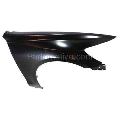 Aftermarket Replacement - FDR-1373LC & FDR-1373RC CAPA 2006-2011 Lexus GS-Series (Sedan 4-Door) Front Fender Quarter Panel (without Molding Holes) Primed Steel SET PAIR Left & Right Side - Image 3