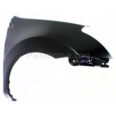 Aftermarket Replacement - FDR-1622LC & FDR-1622RC CAPA 2011-2013 Nissan Rogue & 2014-2015 Rogue Selection (2.5 Liter Engine) Front Fender Quarter Panel Primed Steel SET PAIR Right & Left Side - Image 3