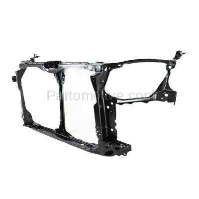 Aftermarket Replacement - RSP-1348 2004-2005 Honda Civic (Coupe & Sedan) (1.7 & 2.0 Liter Engine) Front Center Radiator Support Core Assembly Primed Made of Steel - Image 2