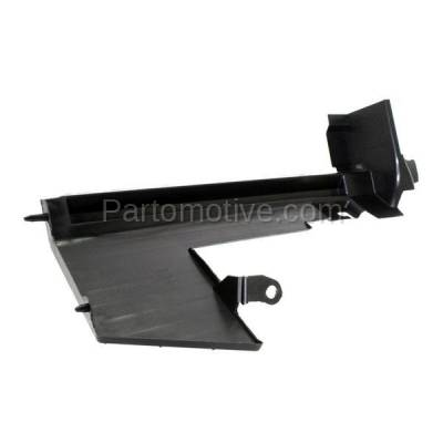 Aftermarket Replacement - RSP-1647L 2007-2012 Nissan Versa (1.6, 1.6 Base, 1.8 S, 1.8 SL, S, SL) Radiator Support Side Air Duct Primed Made of Steel Left Driver Side - Image 2