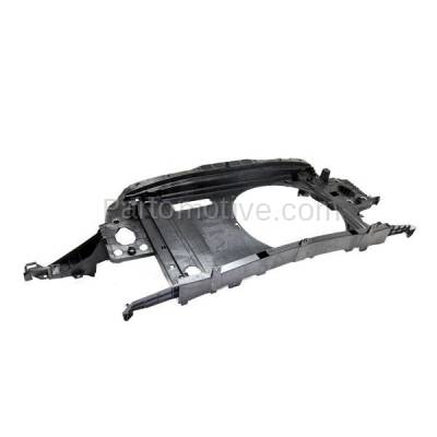 Aftermarket Replacement - RSP-1558 2011-2015 Mini Cooper (Base, Clubman, Coupe, Roadster) Front Center Radiator Support Core Assembly Primed Made of Plastic - Image 2