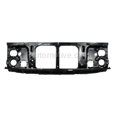Aftermarket Replacement - RSP-1321 1981-1987 Chevrolet/GMC C/K/R/V-Series & Blazer/Jimmy/Suburban (with Single Headlight System) Front Radiator Support Assembly Steel - Image 1