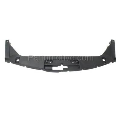 Aftermarket Replacement - RSP-1338 2008-2012 Honda Accord (Coupe 2-Door) (2.4 & 3.5 Liter Engine) Front Center Radiator Support Upper Grille Cover Panel Primed Plastic - Image 1