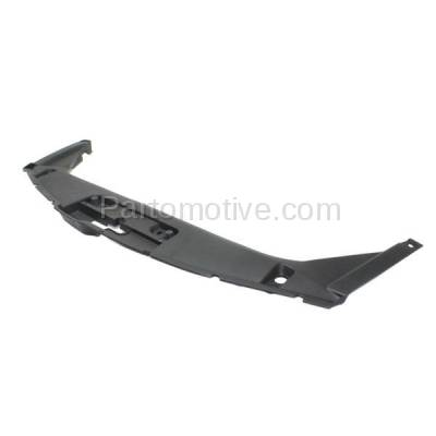 Aftermarket Replacement - RSP-1338 2008-2012 Honda Accord (Coupe 2-Door) (2.4 & 3.5 Liter Engine) Front Center Radiator Support Upper Grille Cover Panel Primed Plastic - Image 2