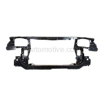 Aftermarket Replacement - RSP-1451 2002-2004 Kia Spectra (EX, GS, GSX, LX) Hatchback & Sedan (1.8 & 2.0 Liter) Front Center Radiator Support Core Assembly Primed Steel - Image 1
