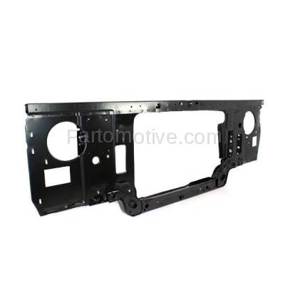 Aftermarket Replacement - RSP-1185 1987-1991 Ford Bronco & F150/F250/F350/F53/F Super Duty Pickup Truck (with Gas Engine) Front Center Radiator Support Core Assembly - Image 3