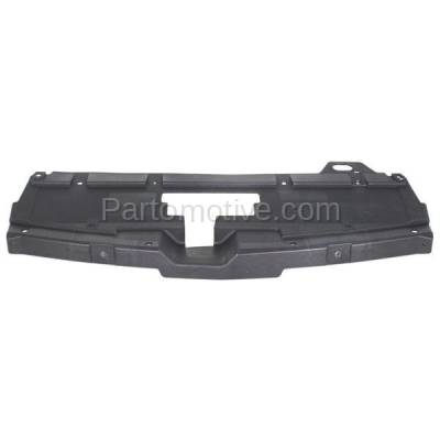 Aftermarket Replacement - RSP-1266 2005-2010 Pontiac G6 (Base, GT, GTP, GXP) Convertible/Coupe/Sedan Front Radiator Support Cover Upper Sight Shield Textured Plastic - Image 1