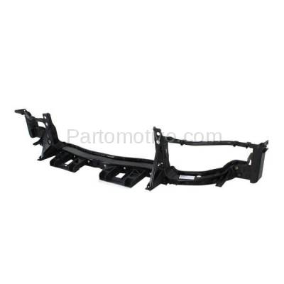Aftermarket Replacement - RSP-1070 2011-2014 Dodge Charger (Sedan 4-Door) Front Center Radiator Support Core Assembly Upper Tie Bar Primed Made of Plastic & Steel - Image 3