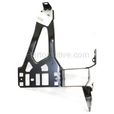 Aftermarket Replacement - RSP-1044L 2004-2010 BMW 5-Series (Sedan & Wagon 4-Door) Front Radiator Support Core Bracket Panel Primed Made of Steel Left Driver Side - Image 1